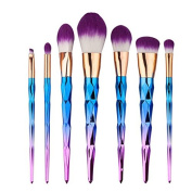 7PCS Makeup Brush Set Eyebrow Eyeliner Blush Cosmetic Concealer Brushes