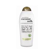 OGX Nourishing Conditioner, Coconut Milk, Salon Size, 750ml by Vogue International