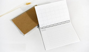 Brown Kraft Cover Coil Binding Schedule / Journal / Diary / Note Book / Planner