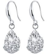 Meolin Classic Zircon Flower Dangle Earring For Women
