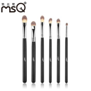 Makeup brushes Pens,ABCsell 6pcs Makeup Brushes Set Professional Eye Brush Soft Synthetic Hair
