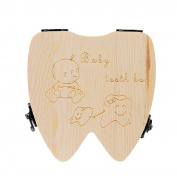 Baby Tooth Box VIASA Storage Tooth Box Lanugo Collecting Teeth Gift