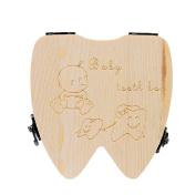 Baby Tooth Box VIASA Storage Tooth Box Lanugo Collecting Teeth Gift