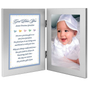 New Baby or Grandson Baptism Gift from Grandparent(s) - Add Photo