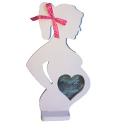 D-Sun Wooden Photo Picture Frame for Pregnant Women Wedding Ornaments Decorations Mom Gifts