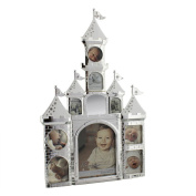 Stunning Large Castle Shaped Baby Collage Photo Frame by Haysom Interiors