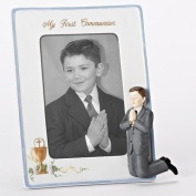 My First Communion Boy's Picture Frame