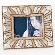 Roman Inc. 22cm H Confirmation Frame Confirmed in Christ Holds 5x 7 Photo