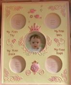 Disney Baby Girls Milestone Frame 19.5 X 9 Holds 5 Photos