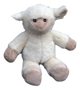 Baby Lamb Rattle, 13 Stuffed Animal Cuddle Sheep Plush With Rattle, Baby Shower Gift