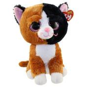 "New Ty Beanie Boos Cute BuddyTAURI the Cat (Glitter Eyes) (Medium Size - 9 inch) TY Beanie Boos - Plush Toys 9"" 25cm Medium Ty Plush Animals Big Eyes Eyed Stuffed Animal Soft Toys for Kids Gifts …"