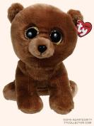 "Ty Classic Beanies TY Classic Plush TY Classic Plush - BROWNIE the Brown Bear (9.5 inch)- 25cm Medium Buddy Size 9"" …"