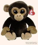 "Ty Classic Beanies TY Classic Plush - BANANAS the Brown Monkey (9.5 inch) 25cm Medium Buddy Size 9"" …"