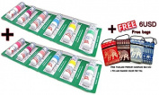 12xPoysian Menthol Nasal Inhaler + Thailand Hand Made Bag From Thailand