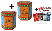 2xTiger Balm Red Extra strength Herbal Rub Muscles Headache Pain Relief Ointment Big Jar,