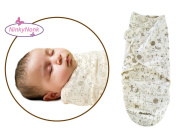 NinkyNonk Breathable Baby Cotton Wearable Blanket Summer Infant Wrap for 0-6 Months,Graffiti