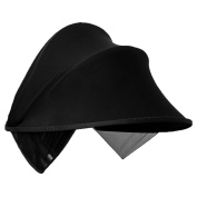 Black Sun Shade Hood Cover for Baby Carriages Strollers Pushchair Car Seats with Great UV Protection Performance