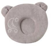Baby Pillow Soft Comfort Memory Foam Pillow Antiflat Head Cushion Nursery Newborn Infant Pillow Cute Panda Style-Grey/0-6 Months