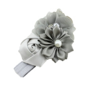 Beautiful Angel Girls Baby Pearl Flowers Hairband Headbands
