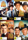The Wild West Season 1 - 4 Bundle [Region 4]