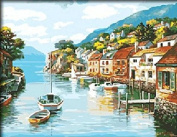 Dorara DIY Oil Painting Paint By Number Hand Paintworks 16×50cm Music dream
