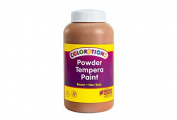 Colorations Powder Tempera, Brown - 0.5kg.