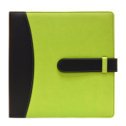 Ultra Pro -8.5 x 11 - Green - 3-Ring Photo and Scrapbook Album with Trim