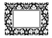 Ultimate Crafts Embossing Folder Regal Impressions A2