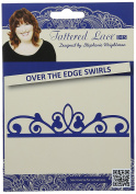 Tattered Lace charming Over The Edge, Swirls D916
