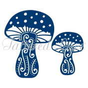 Tattered Lace Toadstools Cutting Dies TLD0048