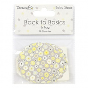 Dovecraft Back to Basics Baby Steps - Card Craft Embellishment Gift Tags