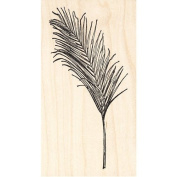 Palm Frond Rubber Stamp
