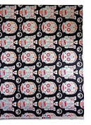 1/2 Yard - Star Wars R2-D2 and C-3PO Sugar Skulls Cotton Fabric - Officially Licenced (Great for Quilting, Sewing, Craft Projects, Quilts, Throw Pillows & More) 1/2 Yard X 110cm Wide