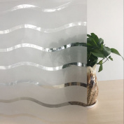 Lemon Cloud Premium No Glue Static Decorative Privacy Window Films for Office and Home