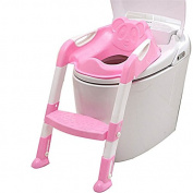 Potty Seat Chair Toilet Trainer Safety Non-Slip Ladder