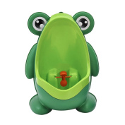 Smartprix Frog Baby Standing Potty Training Urinal for Boys With Funny Aiming Target Green