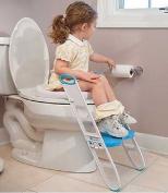 Toilet Training Seat Toddler Potty Trainer Folding Adjustable Kids Step Stool