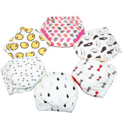 Lucky staryuan Baby Reusable 6 Pack Toilet Training Pants Lovely Nappy Underwear Cloth Nappy