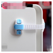 4pcs Adjustable Child Safety Locks Latches With 3M Adhesive- Multi Use Proof Latches For Cabinets, Drawers, Fridge & More