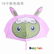 Little Kid and Toddler Umbrella, Multi Umbrella-pink sheep