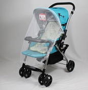 Freedi Infant Baby Mosquito Net for Strollers Carriers Car Seats Cradles White
