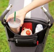 Pram Buggy Stroller Food Holder Storage Bag Pushchair Cup Bottle Pouch Drink Organisers