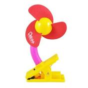 ieasysexy Clip-on Baby Stroller Fan crib mini fan Stroller Fan Camping Easy To Carry