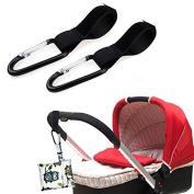 iEvolve Baby Stroller Hook with Lock Stroller Hanger t for Shopping, Handbags, Clothing, Toys
