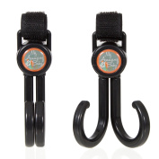 Set of 2 Stroller Hooks That Moms Love!