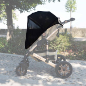 Sun Shade for Most of Baby Pushchairs, Strollers, Prams and Buggies