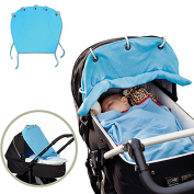 Strollers Sun Curtains, Stroller Cover Sun, Cotton, Can Be Receives the Volume