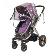 GS.Lee Universal Baby Stroller Rain Cover Waterproof Windproof Umbrella Stroller Weather Shield
