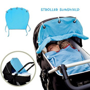 Hiltow Baby Stoller Cover Baby Stroller Rain Snow Wind Weather Cover Shield