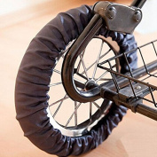 2 Pcs /Set Anti-stain Baby Accessory Stroller Pushchair Pram Wheel Cover for Wheel Diameter
